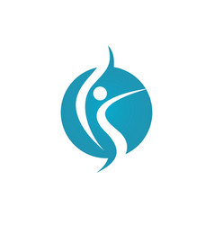 Healthy life logo vector