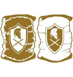 Scroll of ancient rome vector