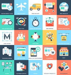 Business Concepts Icons 5 vector