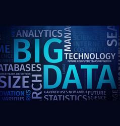 Business inteligence technology background binary vector