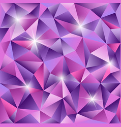 crystal textured abstract background vector image