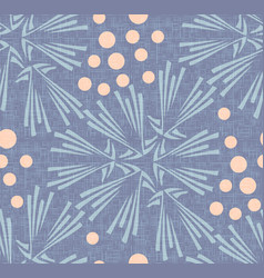 dandelion polka dot seamless pattern background vector image vector image
