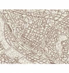 Grunge map vector