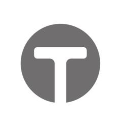 Letter T Logo Concept Icon vector