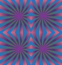 Pink blue seamless hypnotic swirl pattern vector