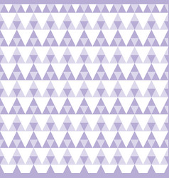 purple geometric triangle seamless pattern vector image