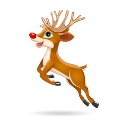running little deer vector image