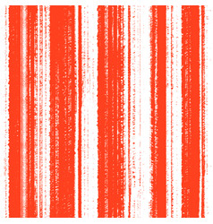 seamless grunge orange pattern with lines vector image
