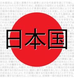 japan-name-symbol-flag vector image