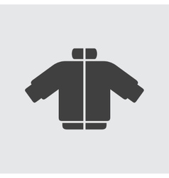 Coat icon vector image