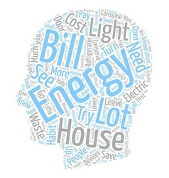 House energy ll text background wordcloud concept vector