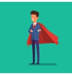 Super Businessman Business concept vector image