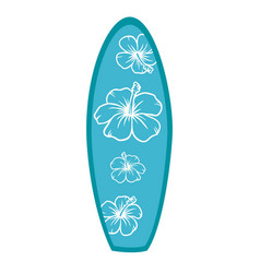 surf table vector image vector image