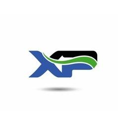 XP logo vector image