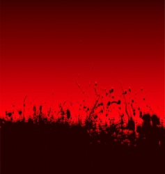 abstract blood splat vector image vector image