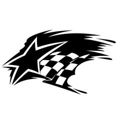 Motor sport icon vector image