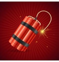 Detonate Dynamite Bomb vector