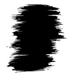 ink dry brush stroke vector image