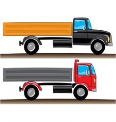 lorries illustration vector image
