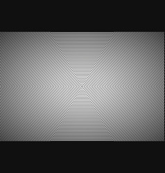 Modern white abstract octagonal background vector