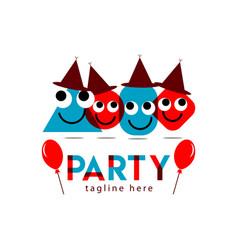 Party template design vector