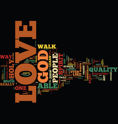 power love text background word cloud vector image