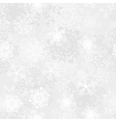 Seamless Snowflake Pattern vector