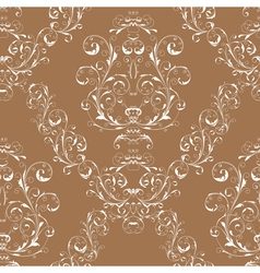 Victorian seamless pattern vector