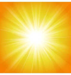Yellow and orange abstract magic light background vector image vector image