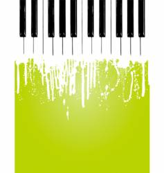 piano flow vector image