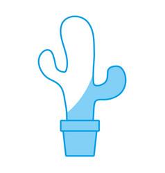 Cactus plant design vector