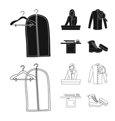 design of laundry and clean icon vector image