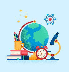 education internet studying distance education vector image