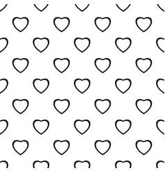 Fearless heart pattern seamless vector
