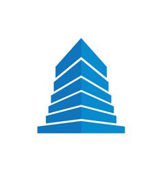 home building company logo vector image
