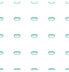 hot dog icon pattern seamless white background vector image