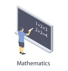 Mathematic practice vector