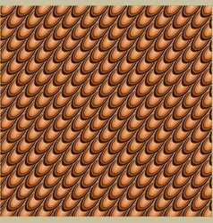 Orange and brown abstract background vector
