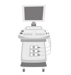 Ultrasound diagnostic machine vector