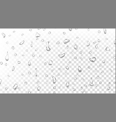 water drops background wet backdrop clean vector image