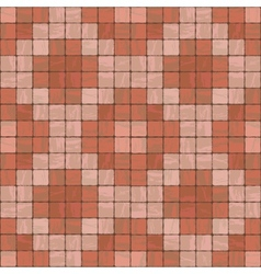Seamless texture of stonewall tile vector image vector image