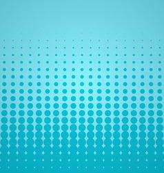 Blue Halftone Backdrop vector image vector image