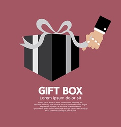 Gift Box Unboxing vector image