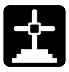 Gravestone vector image
