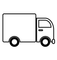 Logistic cars vector