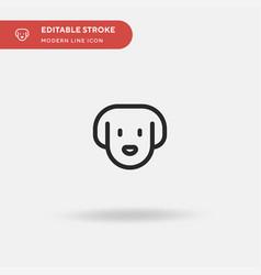 pet simple icon symbol design vector image