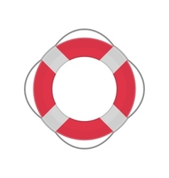 Ring lifebuoy vector