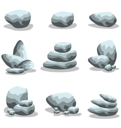 Rock style collection stock vector