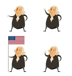 Set of Washington presidents vector image