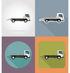 transport flat icons 27 vector image vector image